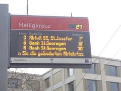 Nicht nur neue Buslinien, auch neue Quartiere haben wir seit dem Fahrplanwechsel. (Bild: Katrin Haltner)
