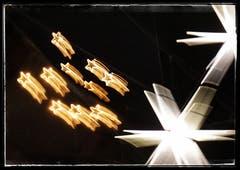 Weihnachtlicher Lichterglanz in St. Gallen. (Bild: Katharina Nagy)
