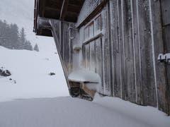 Der Winter hat auf der Schwägalp Einzug gehalten. (Bild: Stephan Lendi)