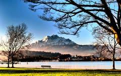 Es liegt wie etwas Winter in der Luft. (Bild: Walter Buholzer (Luzern, 12. Dezember 2018))