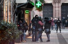 Die Stadt ist im Ausnahmezustand. (Bild: EPA/Patrick Seeger)