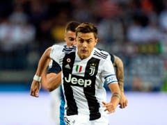 Paulo Dybala schoss im Hinspiel gegen YB sämtliche drei Tore für Juventus (Bild: KEYSTONE/AP ANSA/GIANNI NUCCI)
