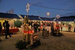 Adventsmarkt im «Solino» in Bütschwil. (Bild: PD)