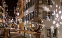 Adventsstimmung in der Zuger Altstadt (Bild: Daniel Hegglin (Zug, 13. Dezember 2018))