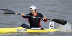 Japans Yasuhiro Suzuki wird wohl keine Wettkämpfe mehr bestreiten – er ist für acht Jahre gesperrt. (Bild: Kyodo News / AP)