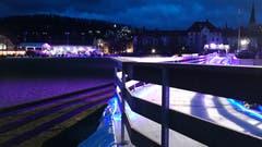 St. Galler Eiszauber - Eisbahn auf der Kreuzbleiche. (Bild: Doris Sieber)