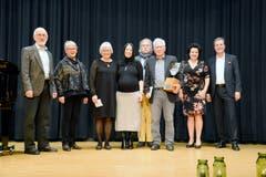 23. November: In Buchs wird der Kulturpreis 2018 verliehen. Er geht an die Projektverantwortlichen der Werdenberger Schloss-Festspiele (Bild) und an den Musiker und Dirigenten Ulrich Zeitler. (Bild: Hansruedi Rohrer)