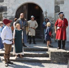 30. Juni: Schloss Werdenberg steht ganz im Zeichen des Mittelaltertages. (Bild: Ursula Wegstein)