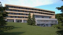 15. April: Die Stimmbürger der Gemeinde Wildhaus-Alt St.Johann verwerfen den umstrittenen 7-Millionen-Franken-Beitrag der Gemeinde an das Jufa-Hotelprojekt deutlich. (Visualisierung: PD)
