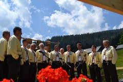 1. Juli: Der Jodlerklub Bergfinkli lädt ein zur 35. und auch letzten Älplerchilbi Gamperfin auf dem Grabserberg. (Bild: Adi Lippuner)