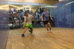 7. April: Der Squashclub Grabs verliert den Playoff-Final gegen Sihltal und beendet die NLA-Meisterschaft auf Rang zwei. Bild: Robert Kucera