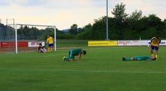 9. Juni: Nach nur einer Saison ist das Gastspiel des FC Buchs in der 2. Liga Interregional beendet, die Meisterschaft wird auf dem zweitletzten Platz beendet.Bild: Robert Kucera