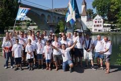 29. Juni bis 1. Juli: Am Eidgenössischen in Bremgarten brillierten die Buchser Pontoniere einmal mehr in den Schnürwettkampfen. Gleich vier Kategoriensiege sicherten sie sich am Saisonhöhepunkt. Bild: PD