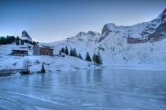 Winterwunderland auf der Bannalp in Nidwalden. (Bild: Caroline Pirskanen (Bannalpsee, 29. Dezember 2018))