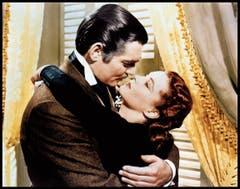 Hollywood macht es vor: Beim Kuss musste der Spass – kein Sex bitte! – aufhören. Clark Gable und Vivien Leigh in «Vom Winde verweht», 1939. (Bild: Alamy)