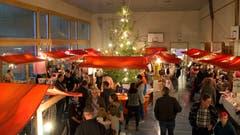 Weihnachtsmarkt in Oberhelfenschwil. (Bild: PD, 01.12.2018)