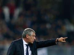 Portugals Nationaltrainer Fernando Santos will sich mit seinem Team gegen die Schweiz im Halbfinal der Nations League durchsetzen (Bild: KEYSTONE/EPA LUSA/JOSE COELHO)