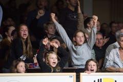 Saisonrekord: 1020 Fans kamen in die BBZ-Halle. Bild: Boris Bürgisser (Willisau, 1. Dezember 2018)