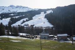 Blick auf den Slalomhang auf der Ochsenweid. (Bild: Jakob Ineichen (Sörenberg, 29. Dezember 2018))