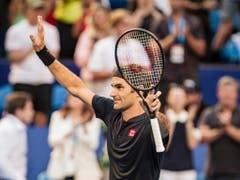 Roger Federer gelingt am Hopman Cup in Perth ein Saisonstart nach Mass (Bild: KEYSTONE/EPA AAP/TONY MCDONOUGH)