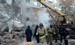 In Magnitogorsk wurde der Katastrophenfall ausgerufen. (Bild: Keystone)