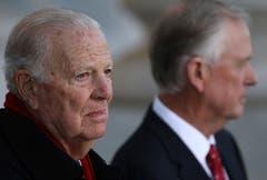 Ex-Aussenminister James Baker. (Bild: AP / Win McNamee)