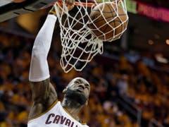 Die Versöhnung: 2014 kehrte LeBron James nach Cleveland zurück und führte das eigentliche Verliererteam zu einem Titel (2016) und in drei Finals (Bild: KEYSTONE/AP/TONY DEJAK)