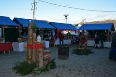 Adventsmarkt im «Solino» in Bütschwil. (Bild: Beat Lanzendorfer, 07.12.2018)