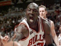 Eine der grössten Sportlegenden der Geschichte: Michael Jordan (Bild: KEYSTONE/AP/BETH A. KEISER)
