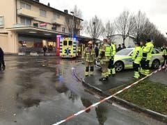 Rund fünfzig Rettungskräfte waren im Einsatz (Kantonspolizei AG)