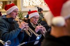 Auch musikalische Unterhaltung fehlt an diesem Wochenende nicht. (Bild: Philipp Schmidli, Willisau, 7. Dezember 2018)