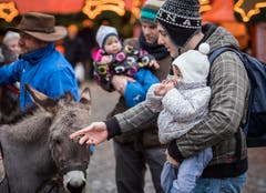 Herdern TG - Impressionen vom Weihnachtsmarkt 2018 im Schloss Herdern.
