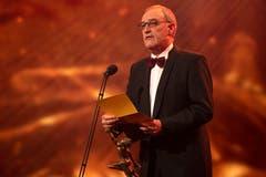 Guy Parmelin an der Verleihung des Credit Suisse Sports Awards (Bild: KEYSTONE/Melanie Duchene)