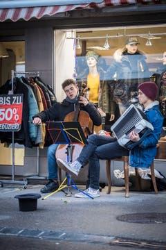 Musik erwärmt die Seele. (Bild: Reto Martin)