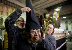Im Bild: Heinz Amstein (links) und Heinz Enz. (Bild: Corinne Glanzmann (Neue LZ))