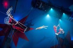 Der National-Circus Pyongyang ist mit dabei im Knie-Zelt (Bild: PD / Katja Stuppia, Circus Knie)