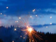 1. August - Feuerwerk in Wolhusen (Bild: Josef Lustenberger)