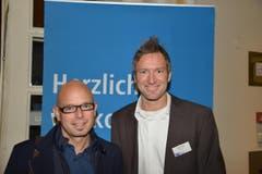 Beat Tanner (links) und André Fallet, Stadt Luzern.