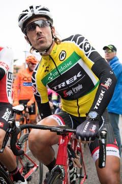 Der Schweizer Radstar Fabian Cancellara in Baar. (Bild: Keystone / Gian Ehrenzeller)