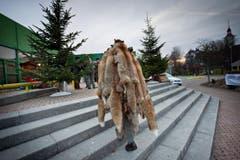 Der Fäälimärt in der Stadthalle Sursee fing schon am Morgen an. (Bild: Pius Amrein (Neue LZ))