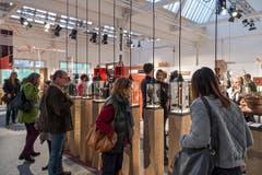 Die Ausstellung fand am Wochendende in der Zuger Shedhalle statt. (Bild: Christian H.Hildebrand, Neue ZZ)