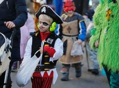 Ein Pirat am Umzug. (Bild: Stefan Kaiser (Neue ZZ))