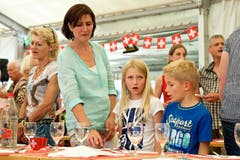 1.-August-Feier in Oberägeri. (Bild: Christian Herbert Hildebrand / Neue ZZ)