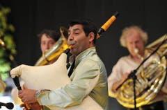 Das Aliev Bleh Orchester (Bild: Urs Hanhart / Neue UZ)