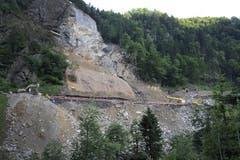 Am 30. Juni laufen die letzten Arbeiten vor der Öffnung der SBB-Gotthardlinie. (Bild: Maria Schmid / Neue LZ)