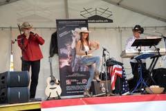 Seenachtsfest Lungern: Stimmung mit Country-Music (Bild: Robert Hess / Neue OZ)