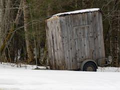 Wintercamping - näher ist man der Natur nie...! (Bild: Hubert Zurbuchen)