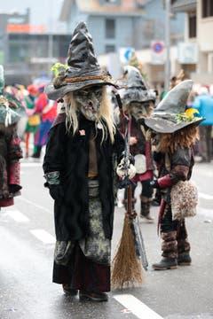 Zauberhaft: die Hexen. (Bild: Roger Zbinden / Neue LZ)