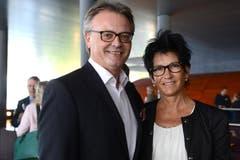 Stadtpräsident Stefan Roth mit Ehefrau Ursula. (Bild: Eveline Beerkircher/Neue LZ)