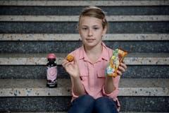 Michelle Künzli (8): «Ich bin Schulgotti, und das ist eine schöne Aufgabe.» (Bild: Pius Amrein (Neue LZ))